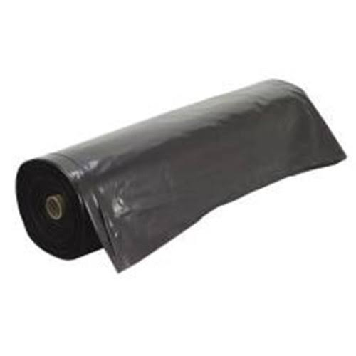 Frost King Polyethylene Sheeting - Black, 10' x 25' x 3 mil