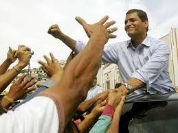 Correa, Presidente de Ecuador