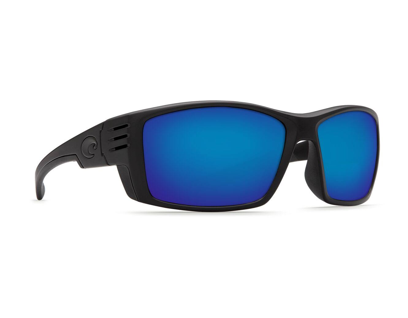 Costa Del Mar Cortez Sunglasses Blackout/Blue Mirror 580P