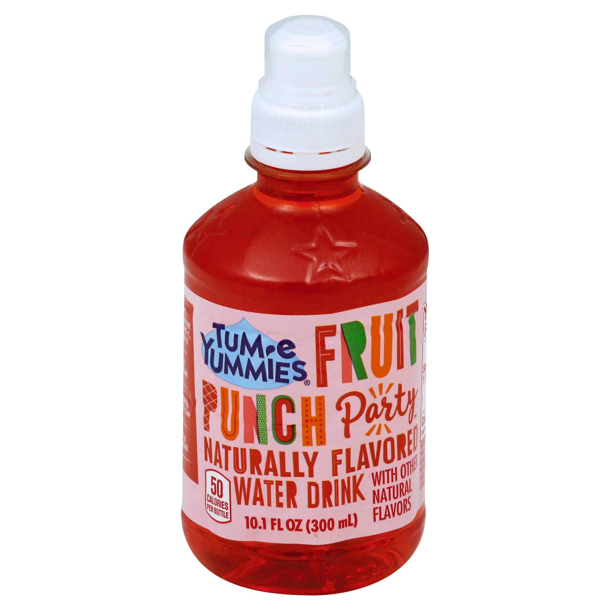 Tum E Yummies Party Water Drink, Fruit Punch - 10.1 fl oz