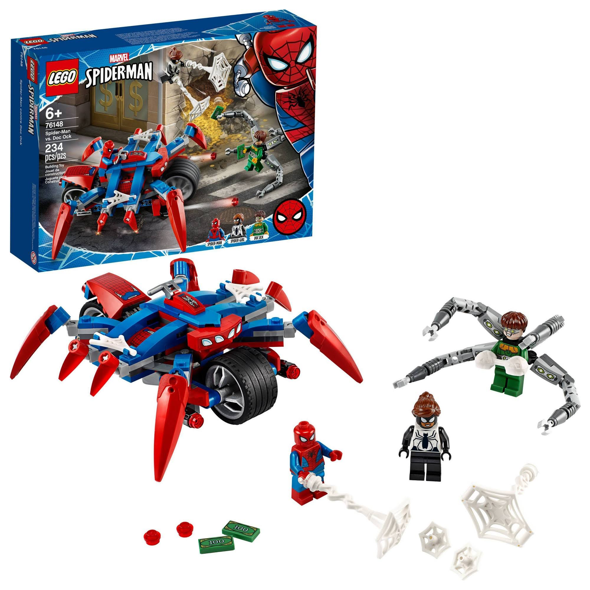 Lego Marvel Spider-Man: Spider-Man vs. Doc Ock 76148 Superhero Playset