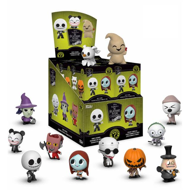 Funko Mystery Mini Nightmare Before Christmas 25th Anniversary Collectible Action Figure