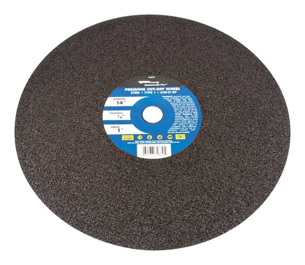 Forney Chop Saw Blade Type 1 Metal with 1-Inch Arbor