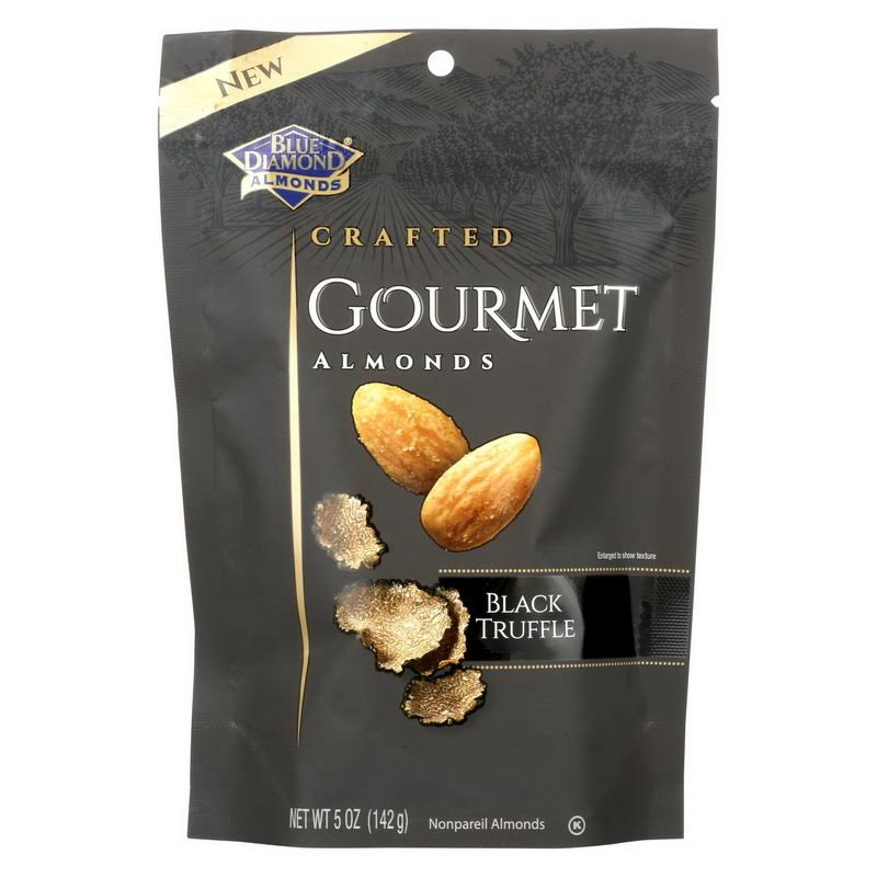 Blue Diamond Almonds, Crafted, Gourmet, Black Truffle - 5 oz