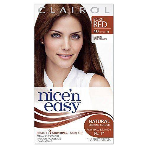 Clairol Nice & Easy Permanent Hair Dye - 4R Natural Dark Auburn