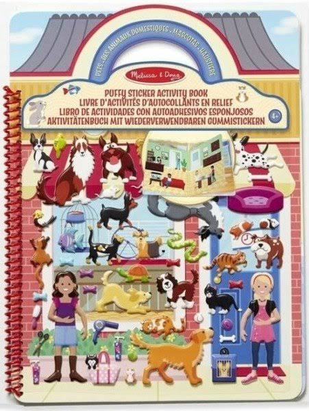 Melissa and Doug 19429 Puffy Sticker Activity Book - 115 Pieces