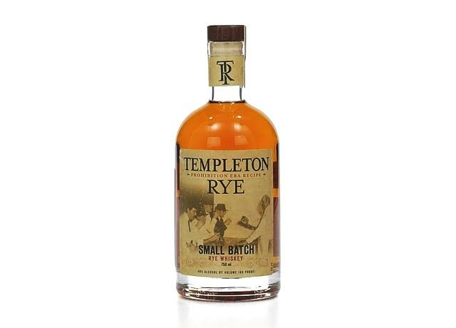 Templeton Small Batch Rye Whiskey - 750ml