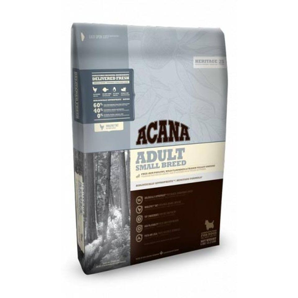 Acana Heritage Adult Small Breed Dog Food 6kg