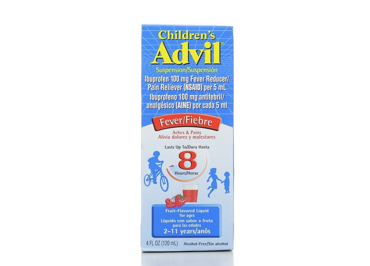Children's Advil Fruit Flavored Liquid Fever & Pain Reliever