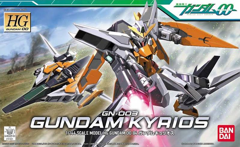 Bandai GN-003 Gundam Kyrios Model Kit - Scale 1:144