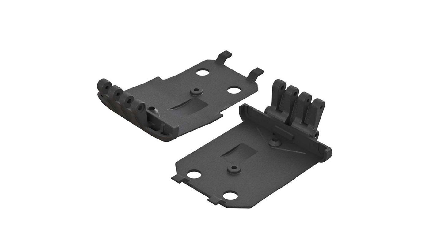 Arrma AR320401 - F/R Lower Skidplate (2) 4x4 Granite Mega
