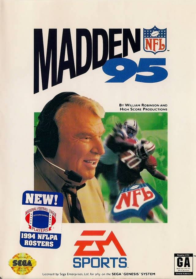 Madden NFL '95 - Sega Genesis Video Game