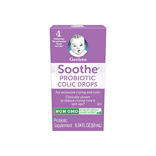 Gerber Good Start Infant Formula Soothe Colic Drops - 0.34oz