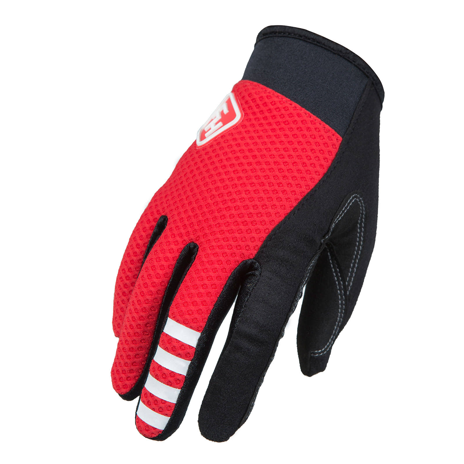 Fasthouse Crossline Bike Gloves - Red