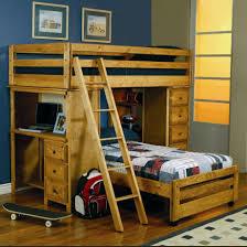 Coal Creek Bedroom Set by Coaster Wrangle Hill Twin Loft Bed W Built In Desk Bedroom Set