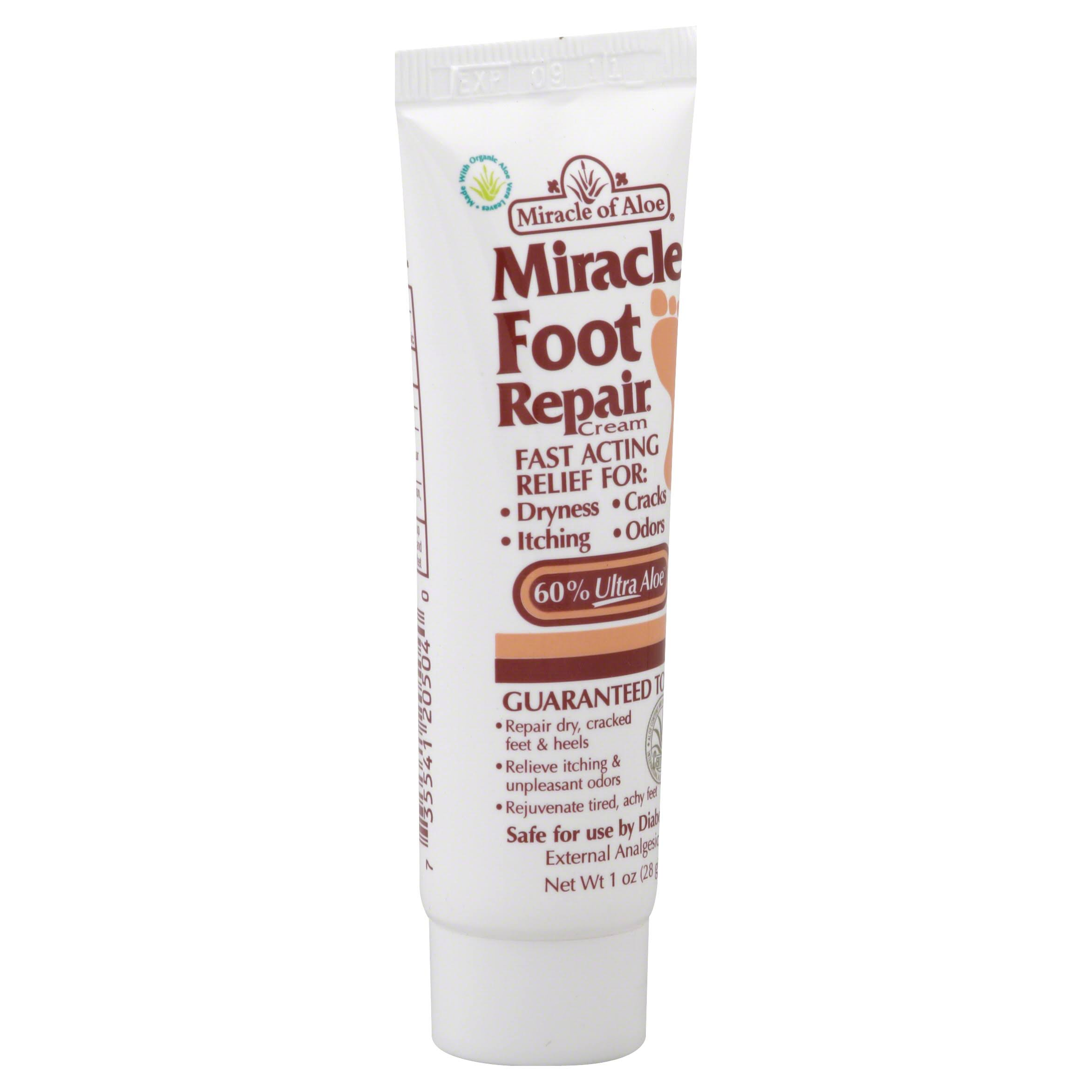 Miracle of Aloe Foot Repair Cream - 30ml