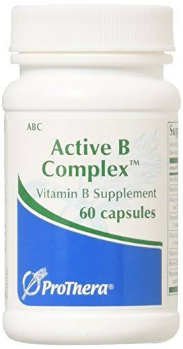 Prothera Active B Complex Supplement - 60 Capsules
