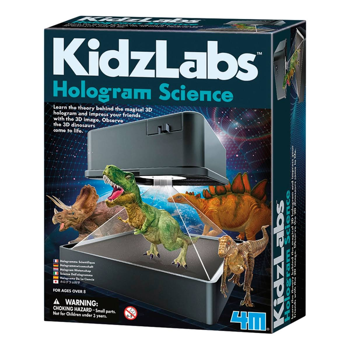 KidzLabs Hologram Projector Kids 3D Image Educational Science and Activity Kit
