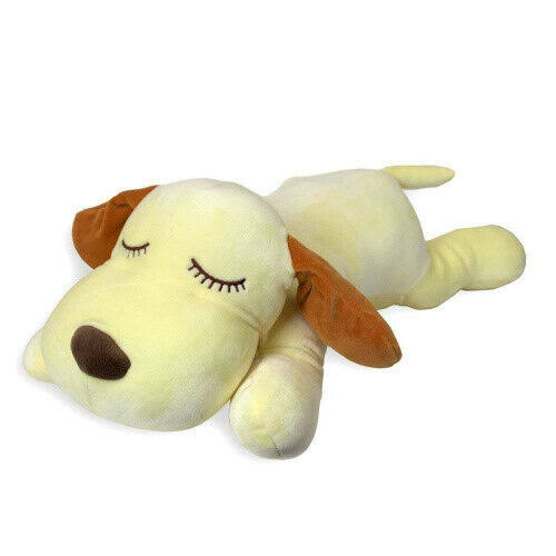 Snoozimals Dog Yellow Plush Toy