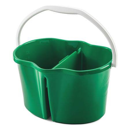 Libman Clean and Rinse Bucket - Green, 4 Gallon