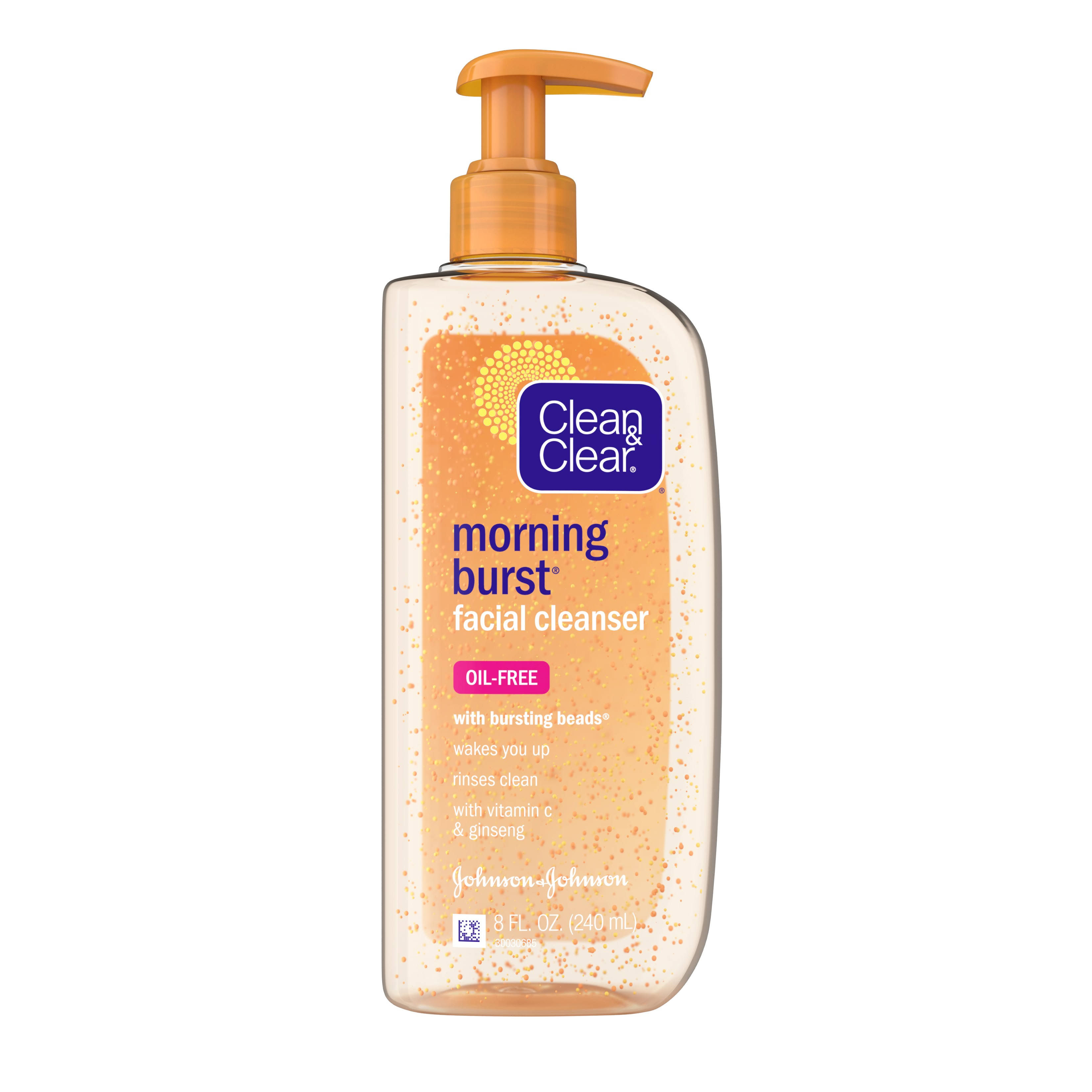 Clean and Clear Morning Burst Facial Cleanser - 8oz