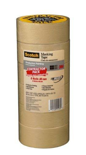 3M Scotch Masking Tape - 6 pack