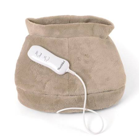 Electronic Heated Foot Massager with Therapeutic Vibration