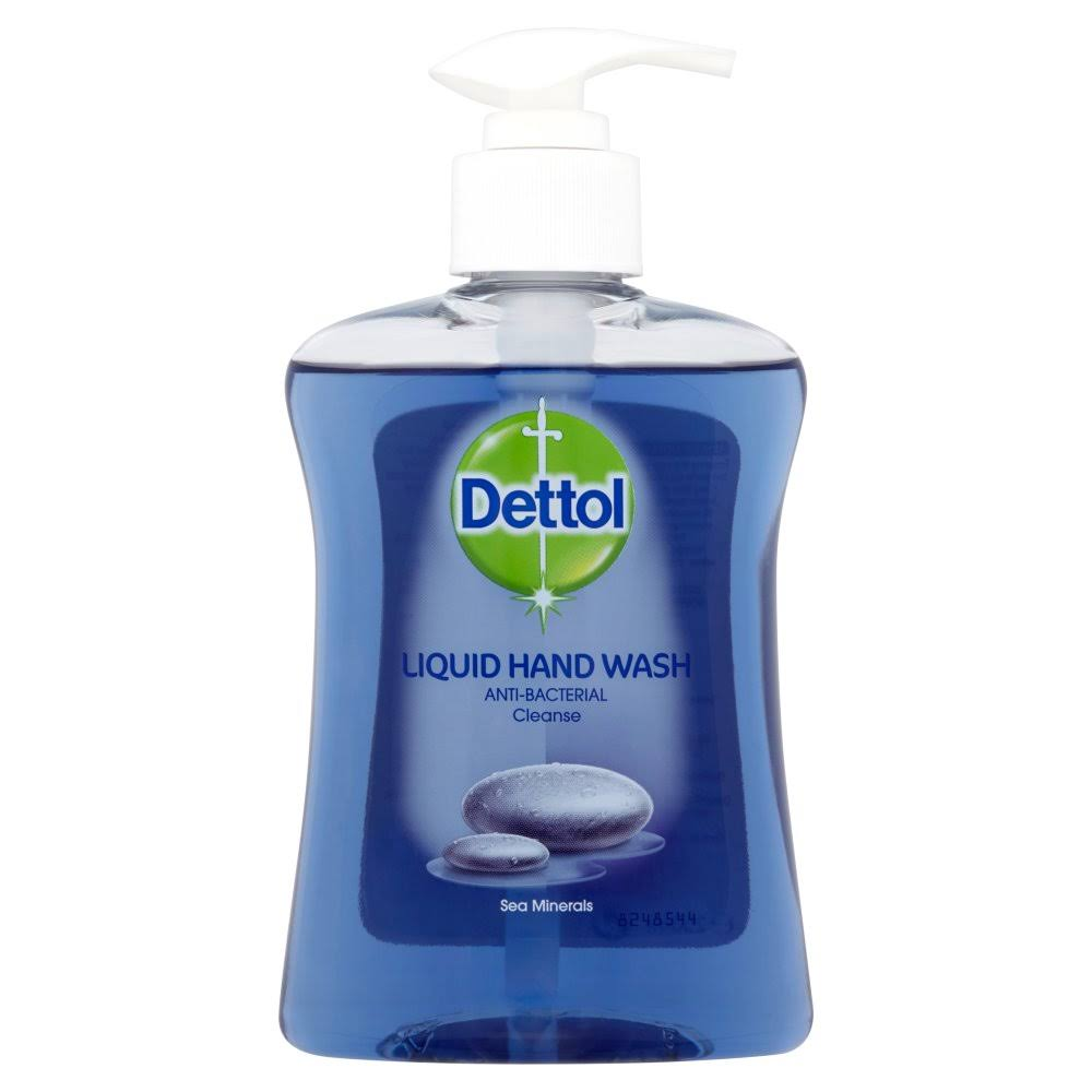 Dettol Anti-Bacterial Liquid Hand Wash - Cleanse Sea Minerals, 250ml