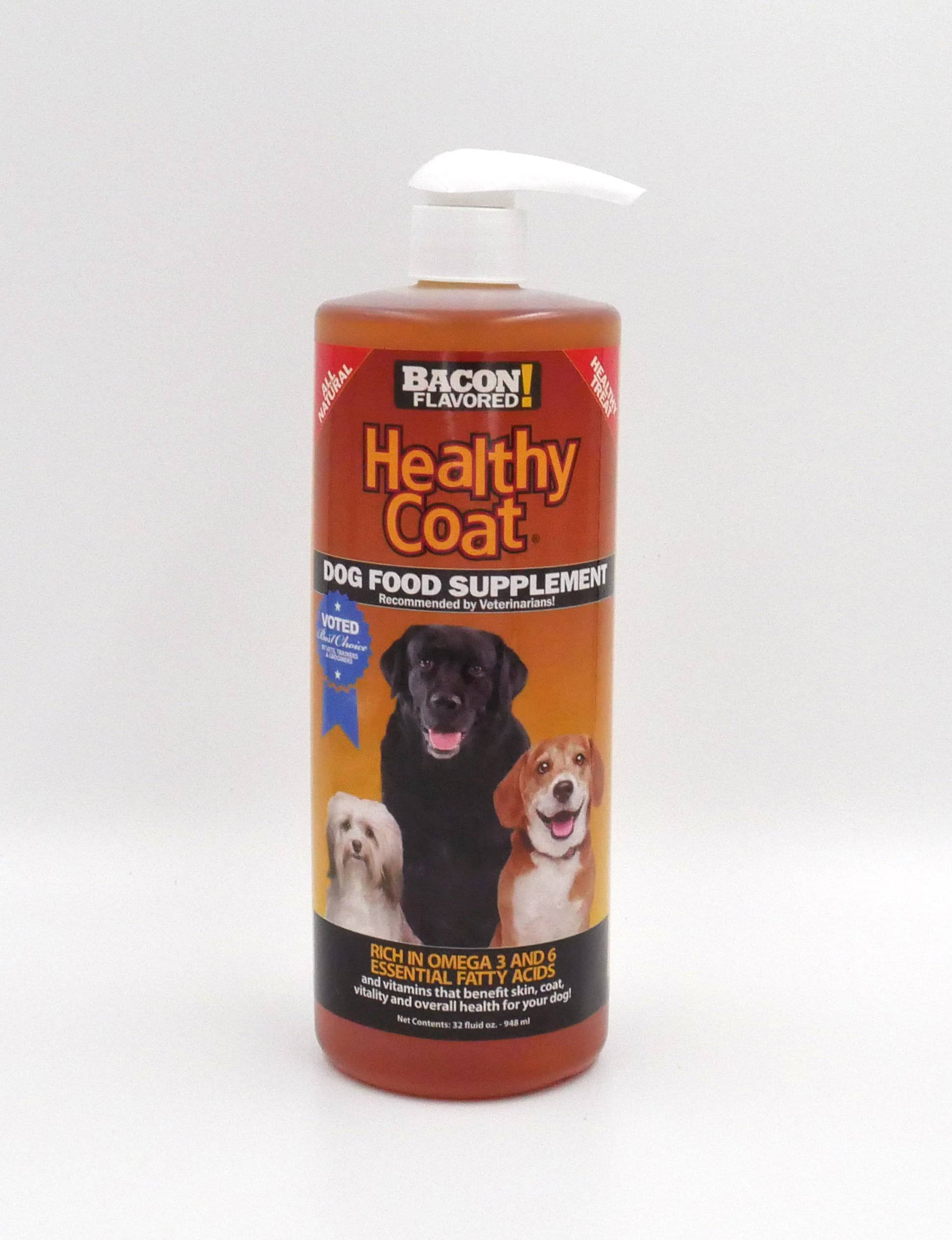Healthy Coat Dog Food Supplement - 32oz