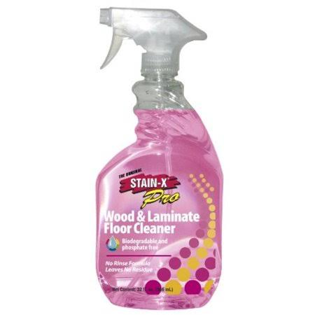 Stain X Pro Wood & Laminate Floor Cleaner - 32oz