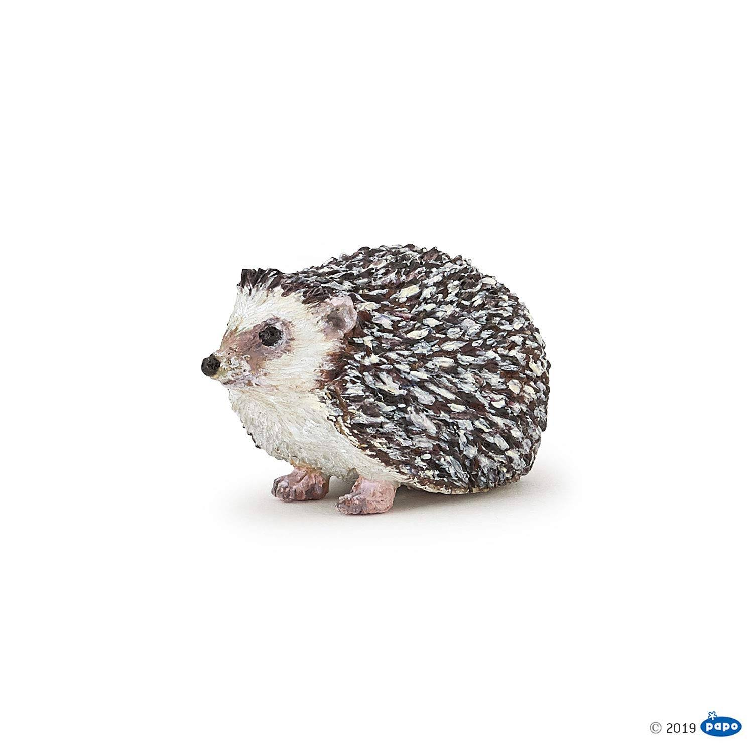 Papo Wild Animal Kingdom Figure - Hedgehog, 4.5cm