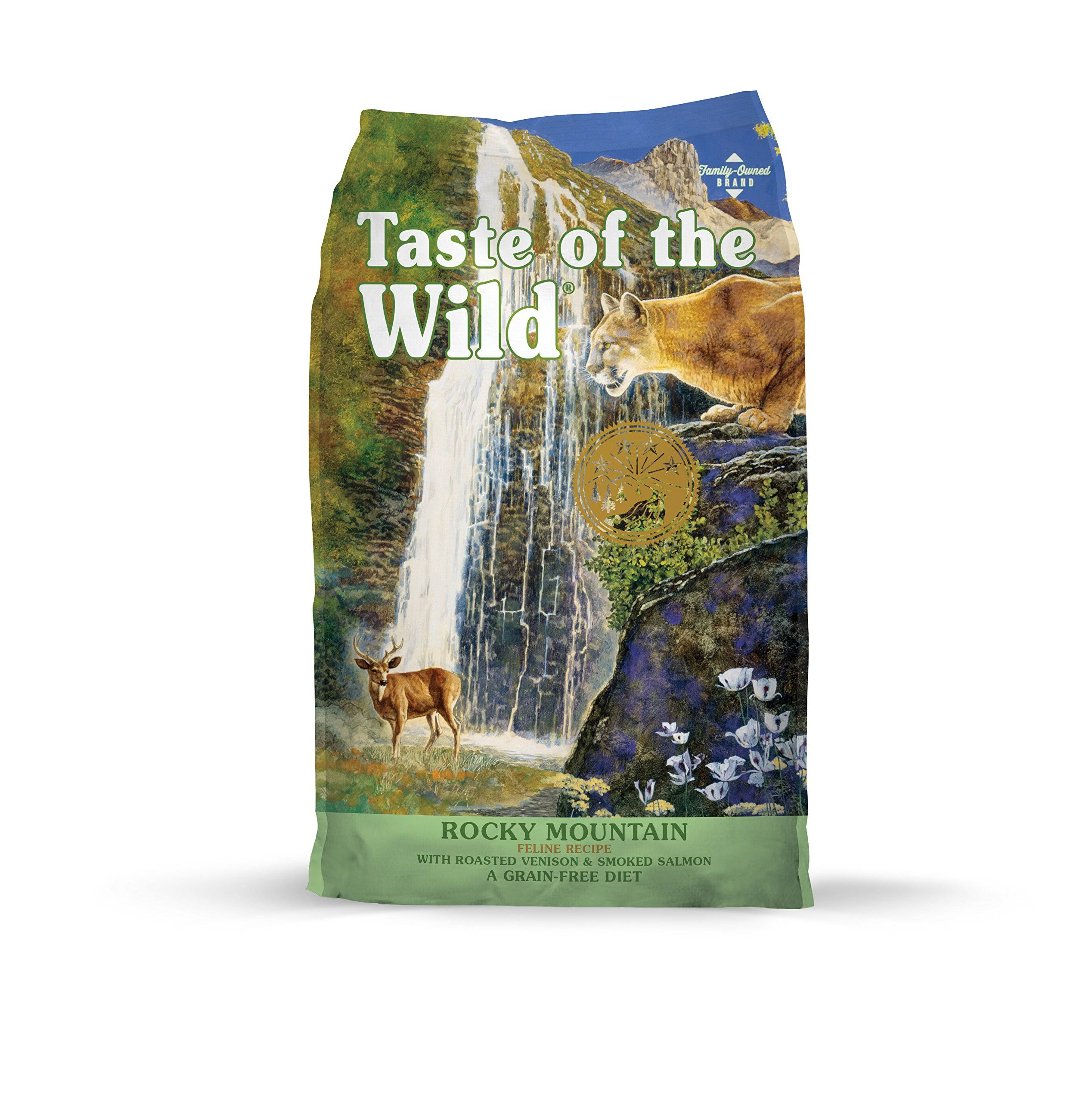 Taste of the Wild Cat Food - Rocky Mountain Feline Formula with Roasted Venison and Smoked Salmon