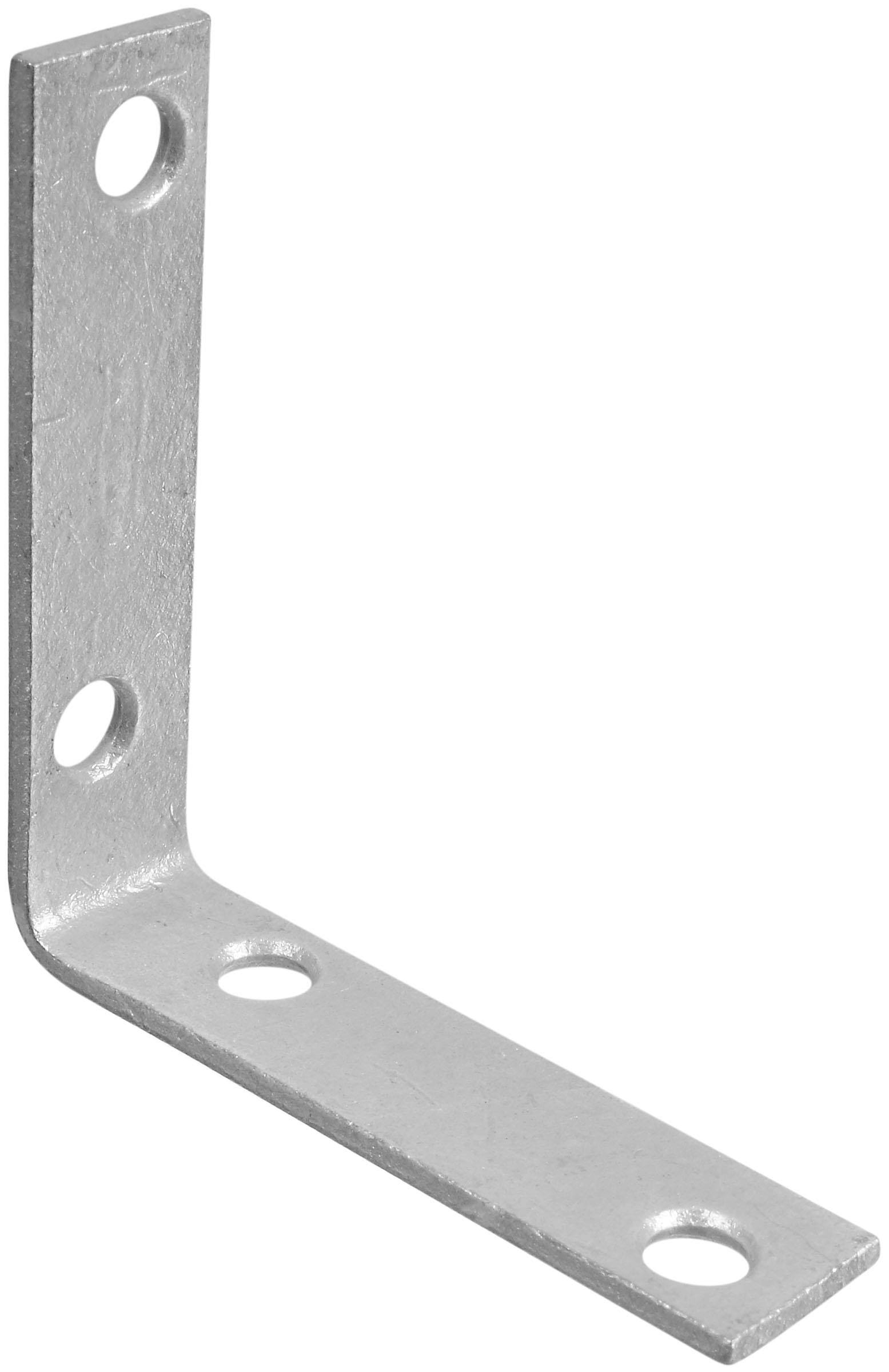 "National N208751 Corner Brace - 2 1/2"", Galvanized"