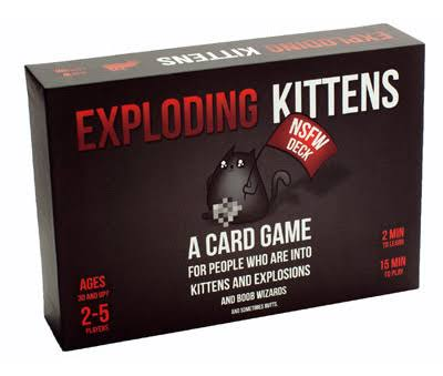 Exploding Kittens NSFW Edition Board Game