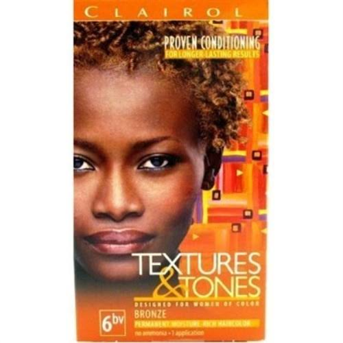 Clairol Textures and Tones Hair Color - 6bv Bronze