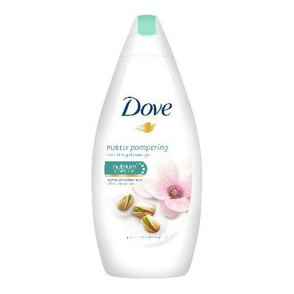Dove Purely Pampering Nourishing Shower Gel - With Pistachio Cream and Magnolia, 500 ml