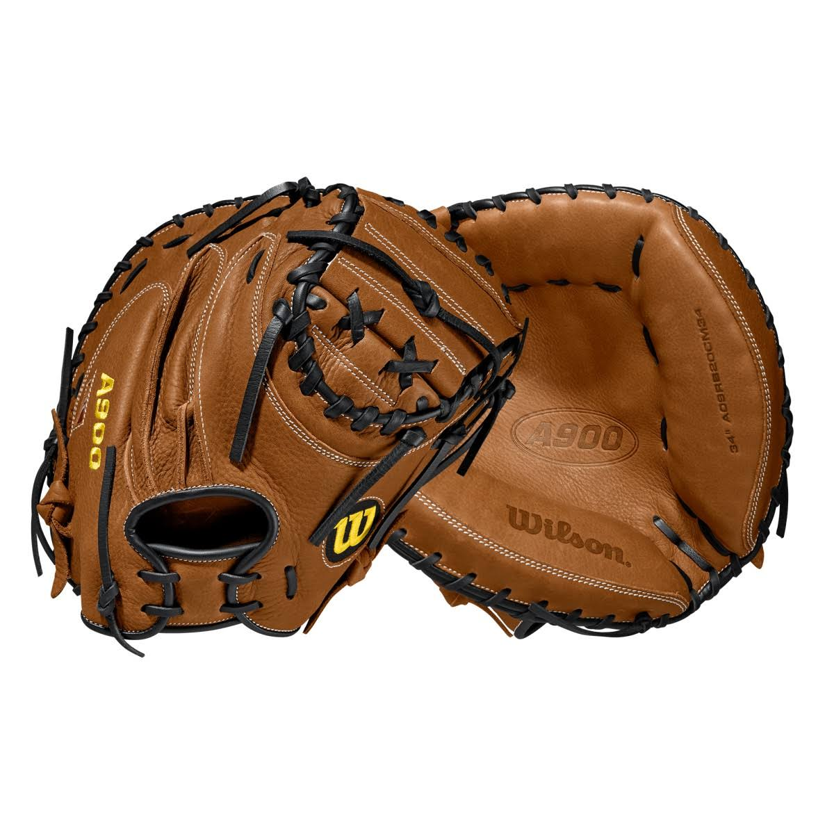 "Wilson 2020 A900 34"" Baseball Catcher's Mitt"