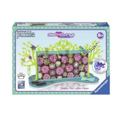 Ravensburger Sweetheart Storage 3D Puzzle - Jewelry Tree, 100pcs