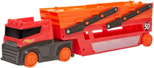 Mattel Hot Wheels Mega Red Trailer 50