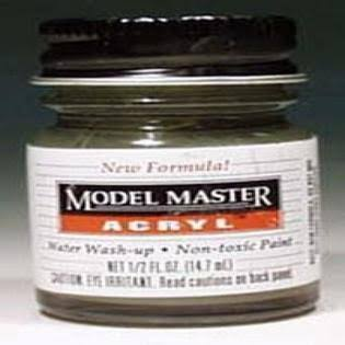Model Master Acrylic Paint - 1/2 oz, Dark Green