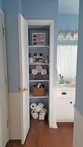 Tall Narrow Linen Cabinet With Doors by Best 20 Small Linen Closets Ideas On Pinterest Bathroom Closet
