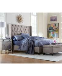 Macys Dining Room Furniture Collection by Rosalind Upholstered Bedroom Furniture Bedrooms Nailhead Trim