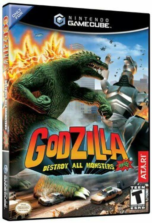 Godzilla Destroy All Monsters Melee - Nintendo GameCube