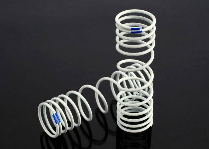 Traxxas Springs Rear +20% Rate Blue Slash 4x4 (2)
