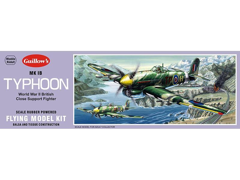 Guillow's MK 1B Typhoon Flying Model Kit