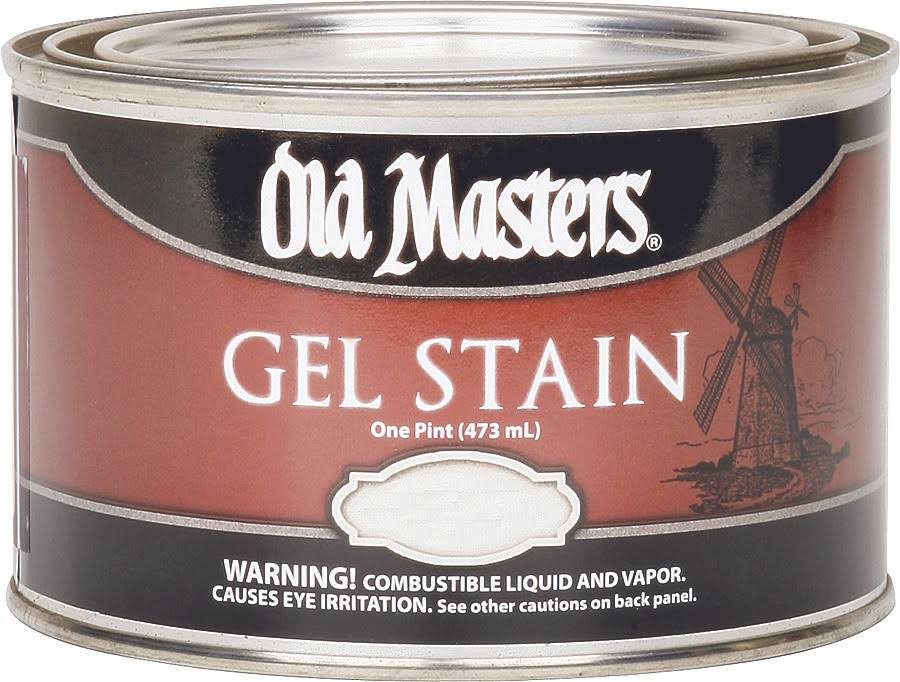 Old Masters 81308 Oil Based Gel Stain Paint - 1pint