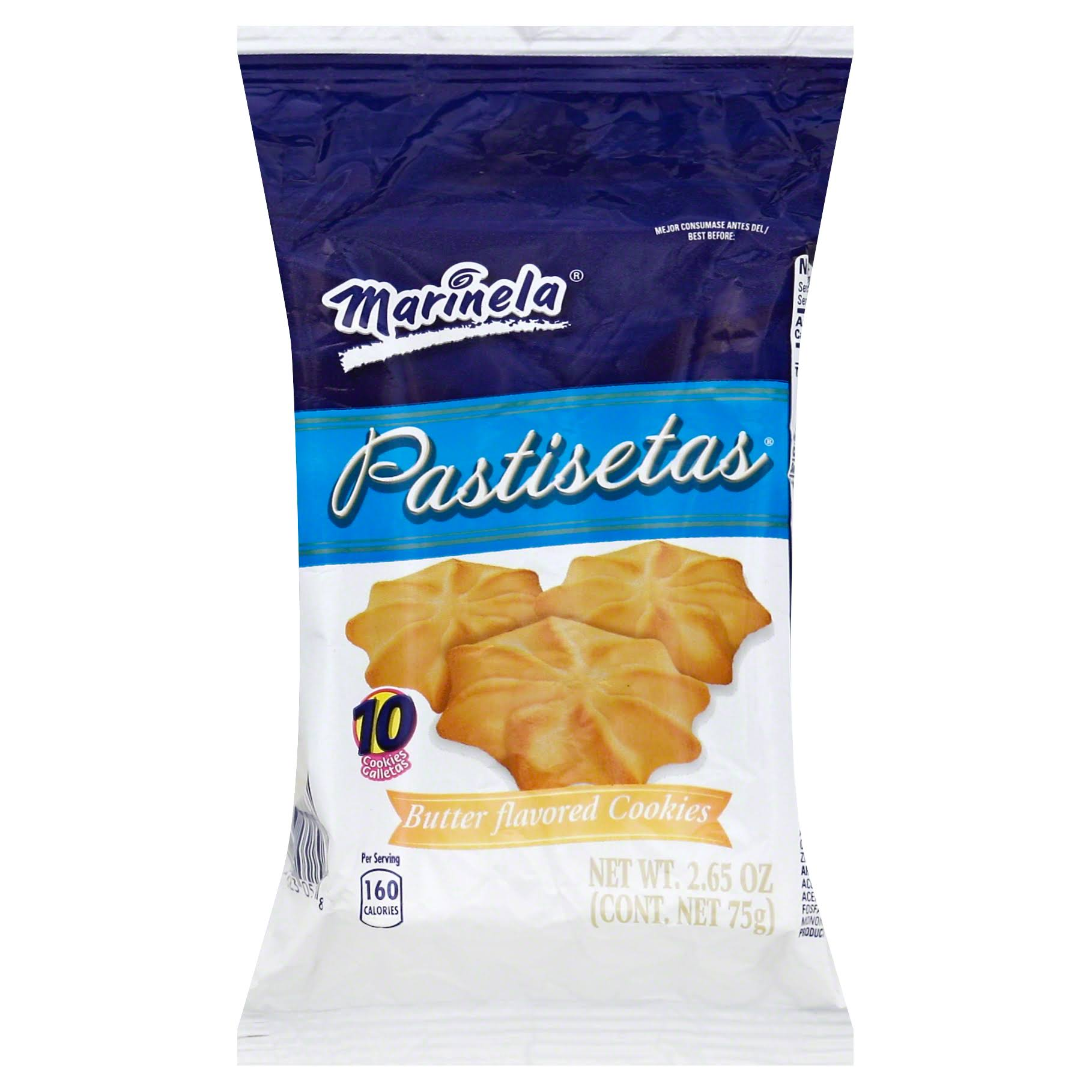 Marinela Pastisetas Butter Flavored Cookies