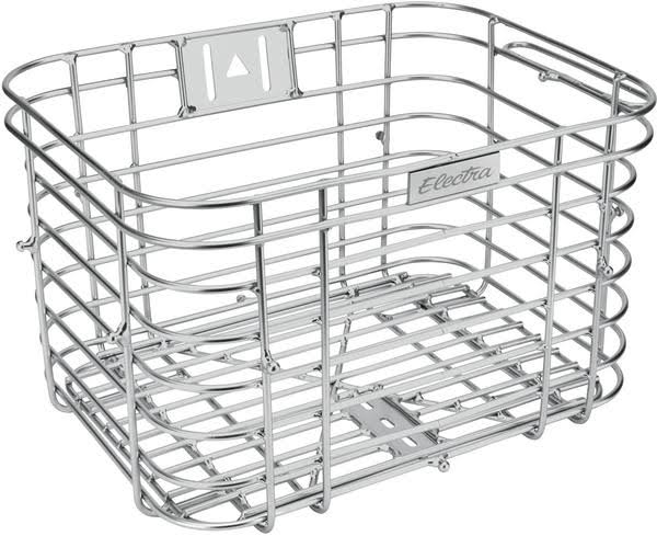 Electra Wired Basket - Silver