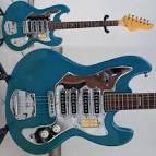 Guitar Blog: Uknown Japanese vintage guitar
