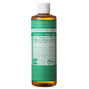 Dr. Bronner's Magic Soaps 18-in-1 Hemp Pure-Castile Soap - Almond Oil